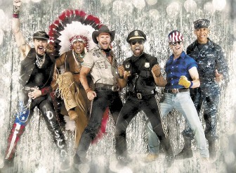 """The Village People performed at the """"MoonPie Over Mobile"""" event in dowtown on New Year's Eve, but Boozie's spies say at least one member wasn't too impressed with Mobile."""