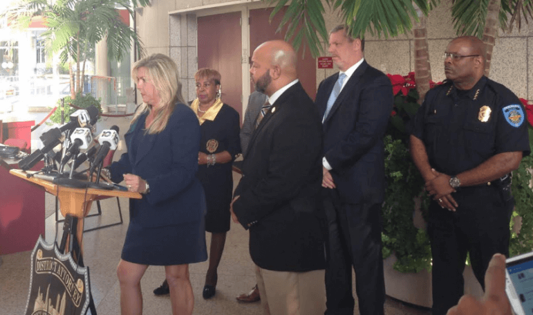 Mobile County District Attorney Ashley Rich addressed the media this afternoon about the newest developments in the Hiawayi Robinson murder case.