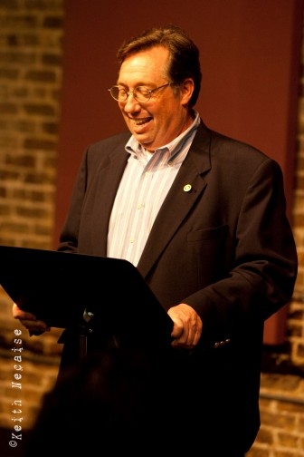 Mobile Arts Council Executive Director Bob Burnett at the 2014 Greater Mobile Arts Awards last year. Burnett has retired after nearly 13 years at the helm of the organization.