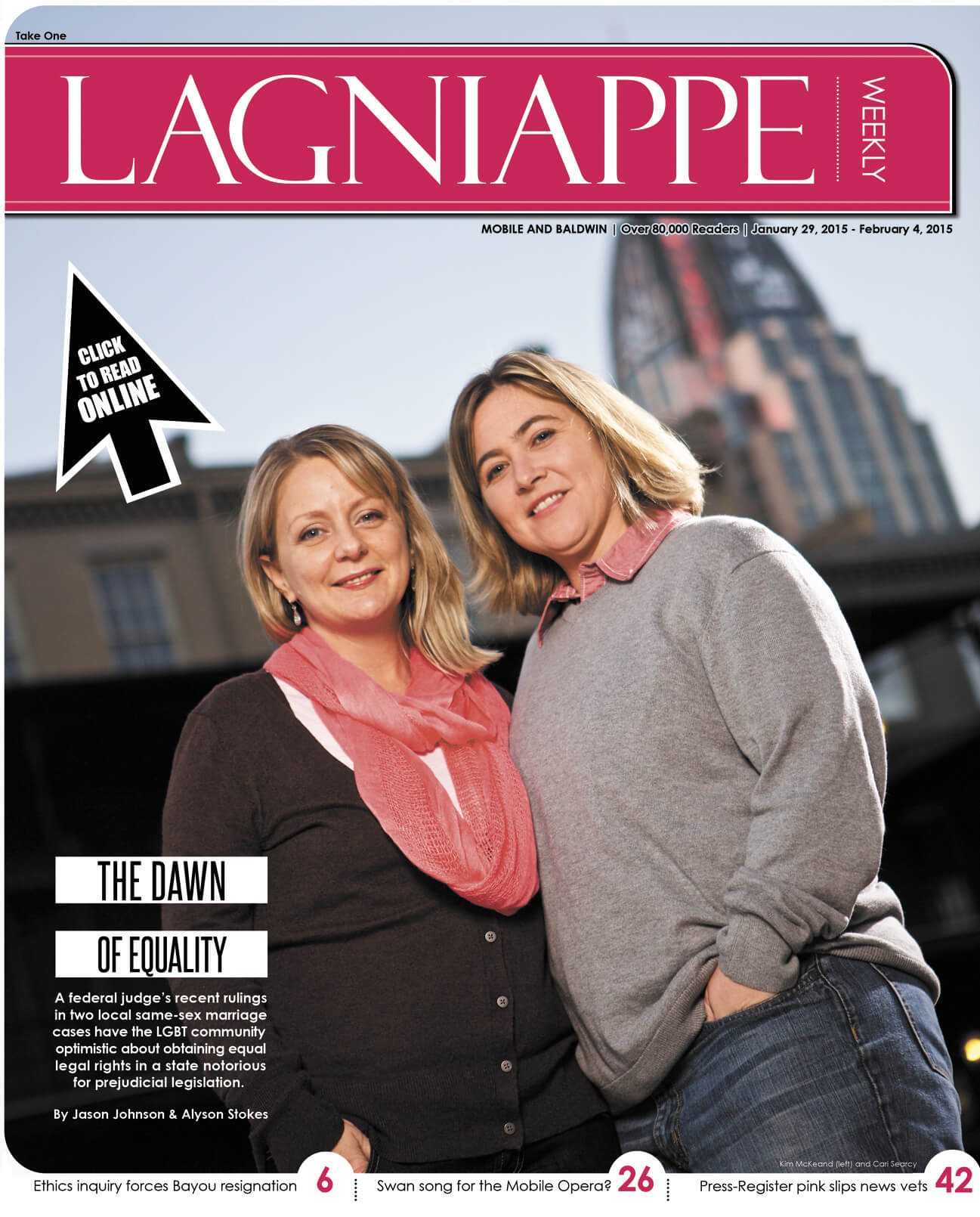 Lagniappe Jan. 29-Feb. 4, 2015