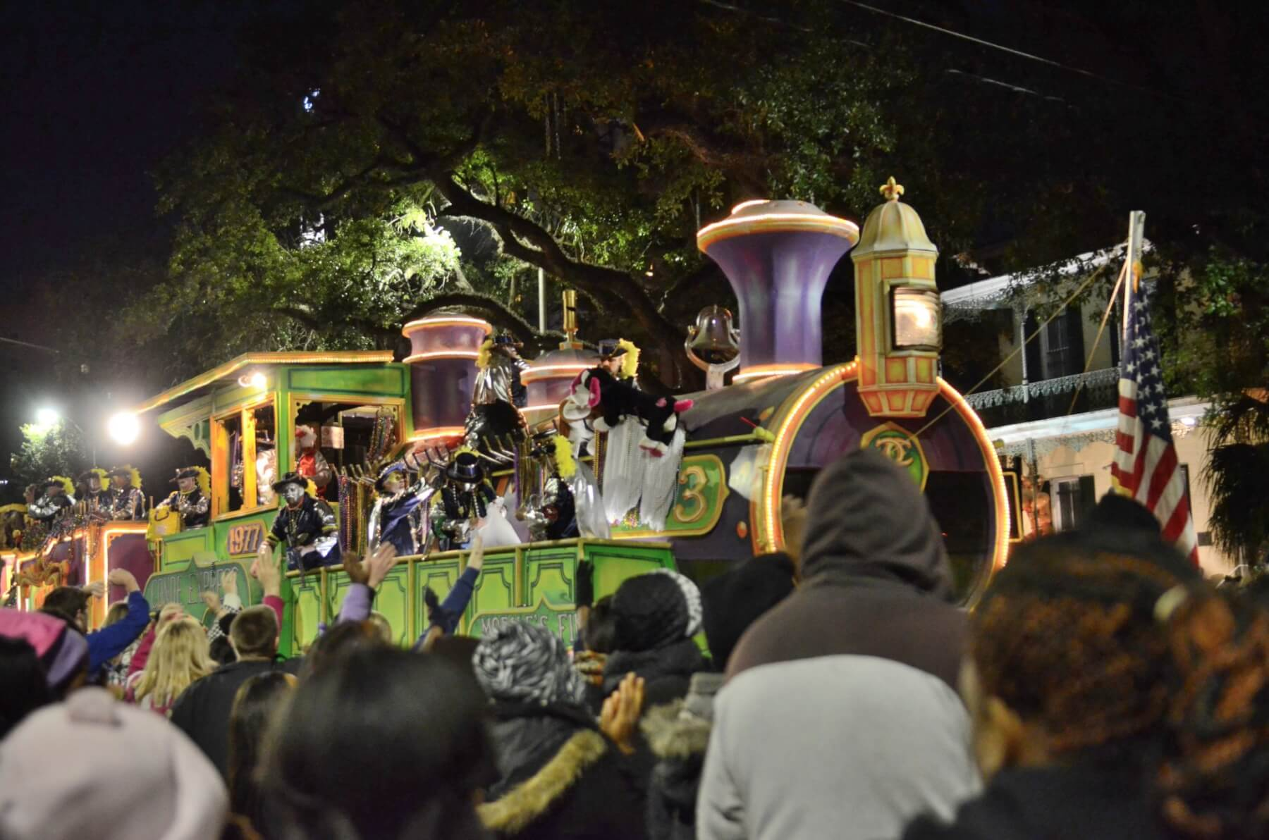 Police estimate more than 84,000 attend first Mardi Gras parade