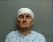 Christopher Cain  of Daphne was arrested for manslaughter Jan. 15 following an accident that left one dead and several injured.