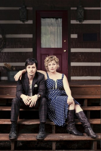 Husband and wife duo Michael Trent and Cary Ann Hearst are Shovels & Rope.