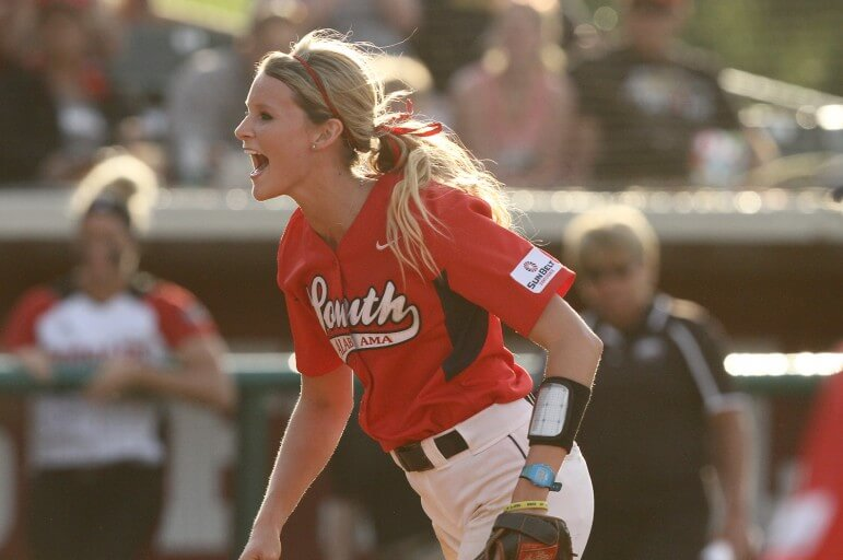 Senior pitcher Farish Beard of Fairhope will lead the USA Lady Jags in pursuit of another winning record in 2015.