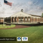 Rendering of the new Citronelle HIgh School.
