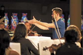 "Conductor Patrick Quigley and soprano Kathryn Mueller will highlight MSO's ""Back to Bach."""