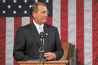 Speaker of the U.S. House of Representatives John Boehner