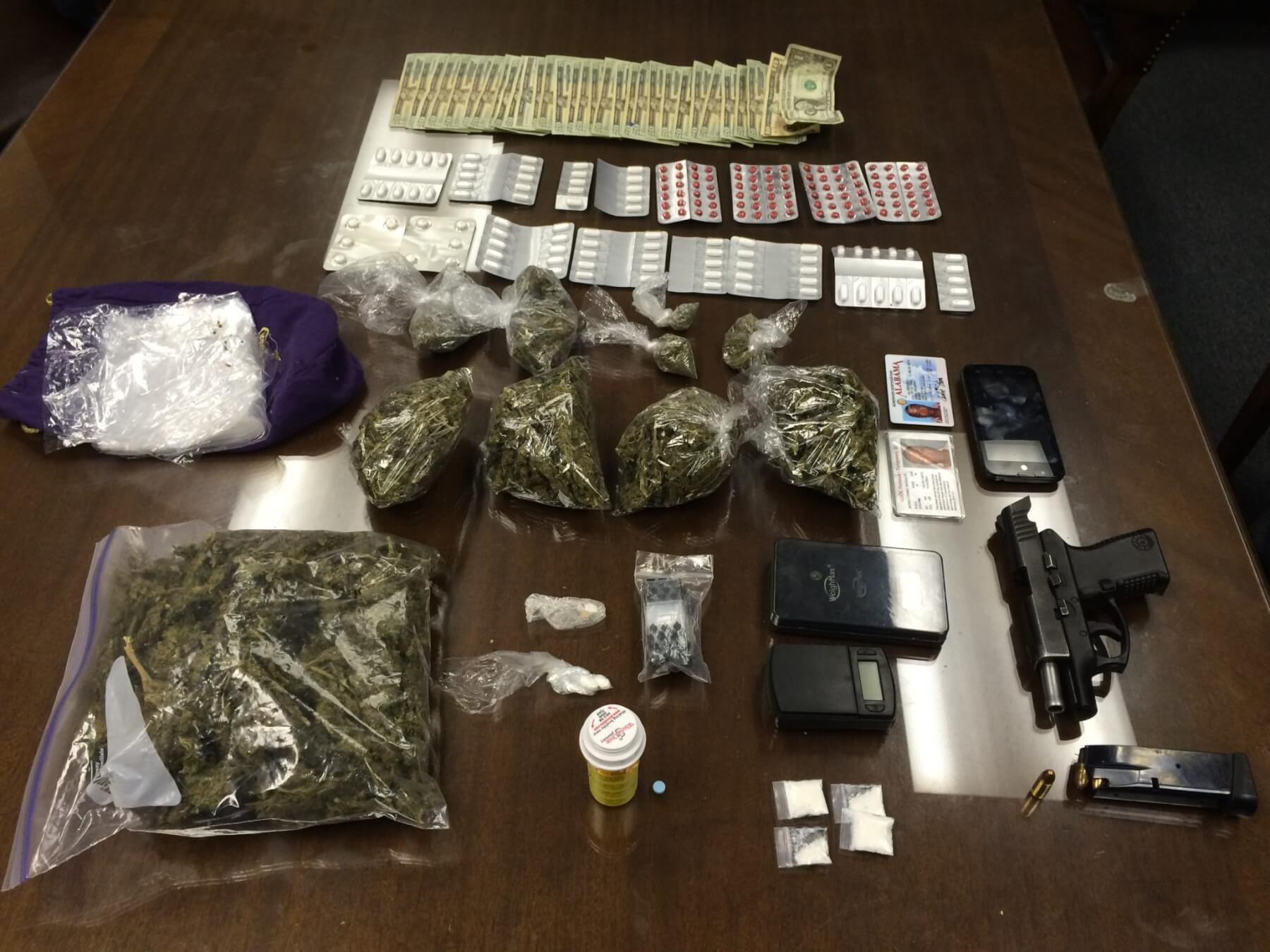 Mobile police remove meth, marijuana from Econolodge