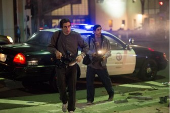 "Jake Gyllenhaal portrays a sociopathic newsman in the thriller ""Nightcrawler."""