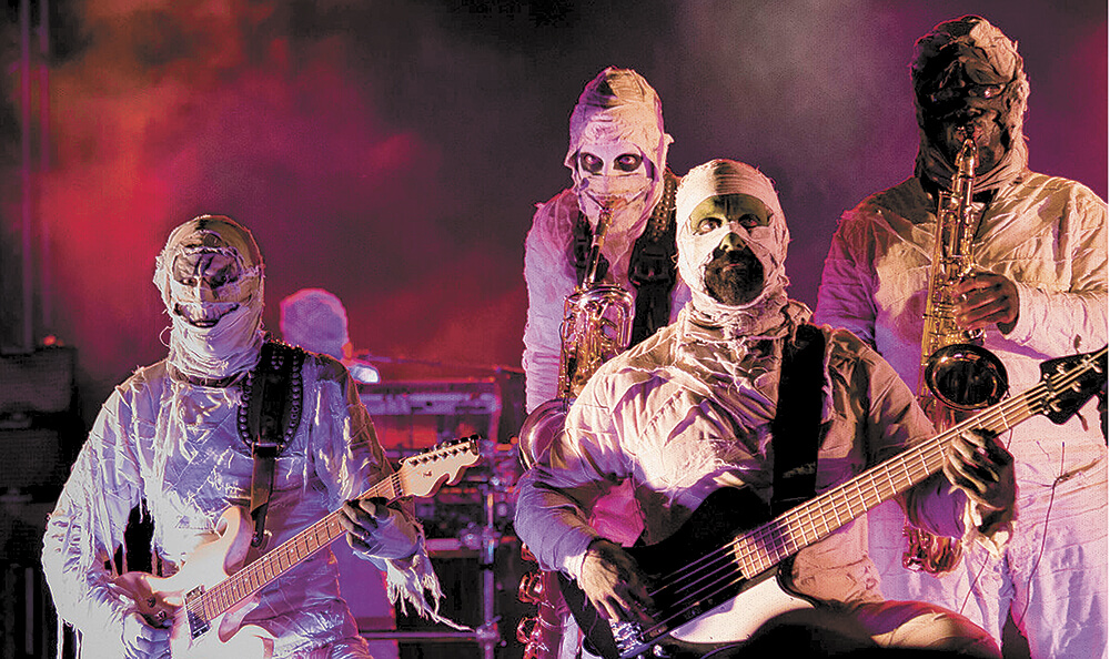 Funky mummies coming to Soul Kitchen