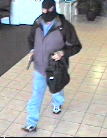 Mobile police searching for masked bank robber