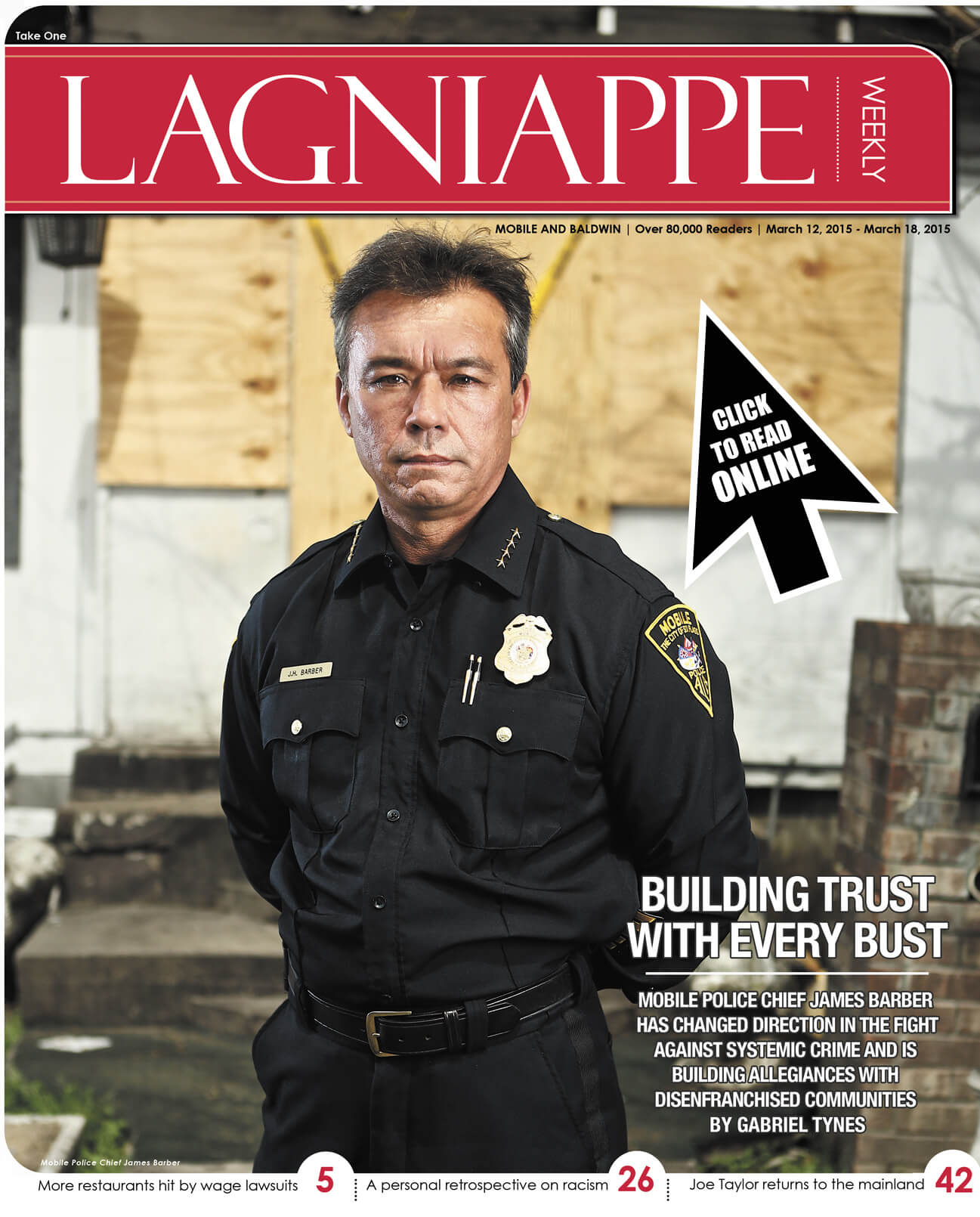 Lagniappe March 12-18, 2015