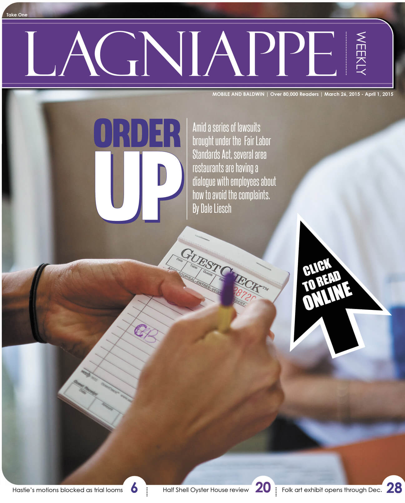 Lagniappe March 26-April 1