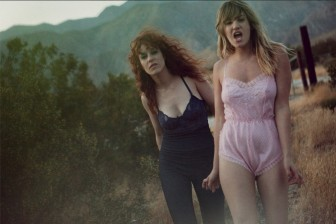 Deap Vally's minimalist approach to rock 'n' roll could be a nod to The White Stripes and L7.