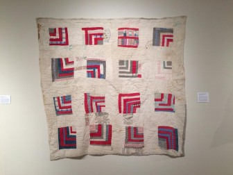 Gee's Bend quilts are on display alongside other folk art at the ACAC through December.