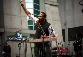 Slide guitarist Robert Randolph, a familiar musician around Mobile, will help kickoff the 2015 Hangout Music Festival.