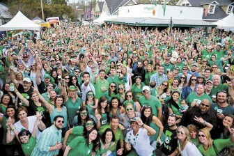 Thousands celebrated St. Patrick's Day (a little early) at Callaghan's annual street party on March 14.