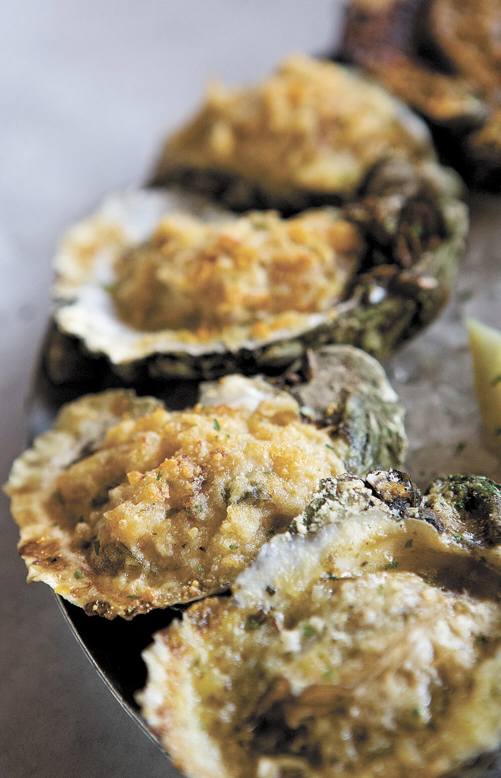 Shuckin' good seafood at Half Shell Oyster House