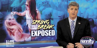 Regardless of his intentions, Sean Hannity has affected Spring Break.