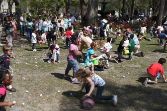 The Downtown Mobile Alliance will host Easter in the Squares Saturday beginning at 10 a.m.