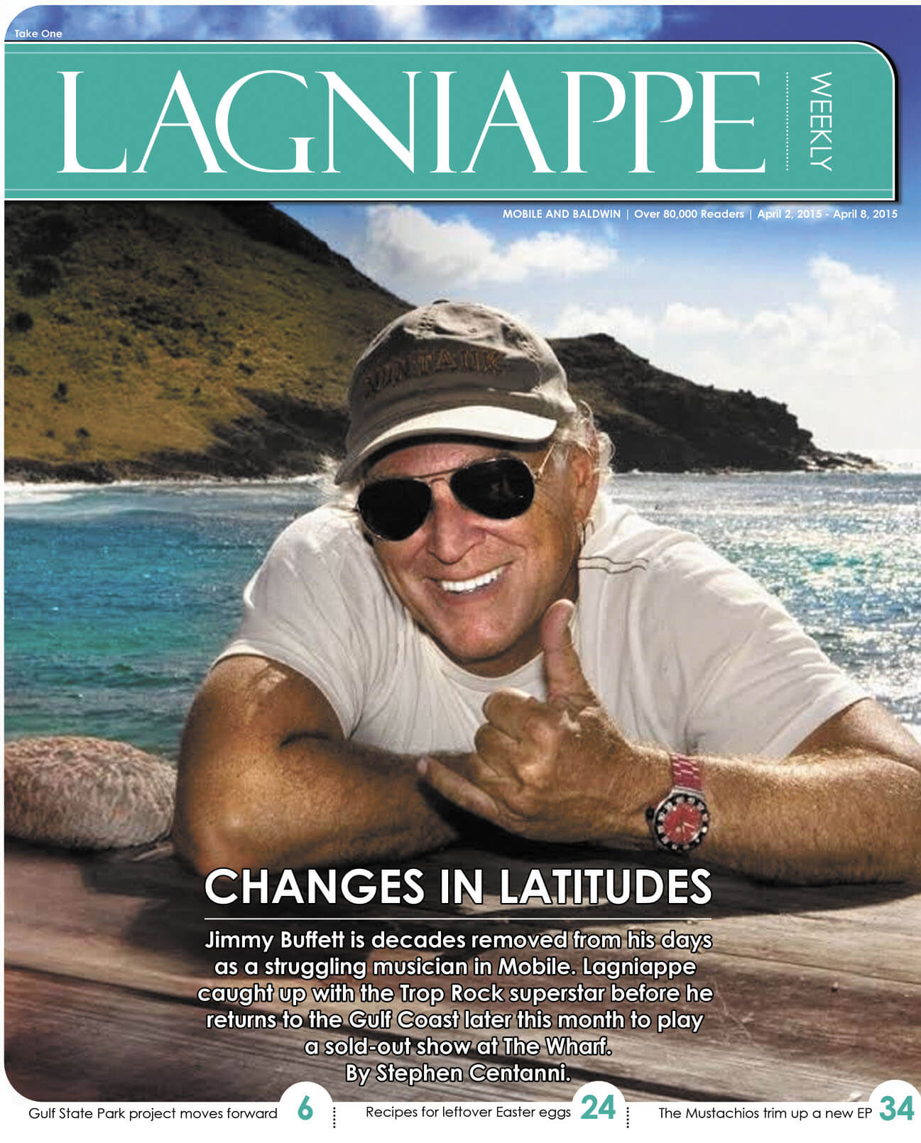 COVER STORY: Jimmy Buffett returning home with a world of experience