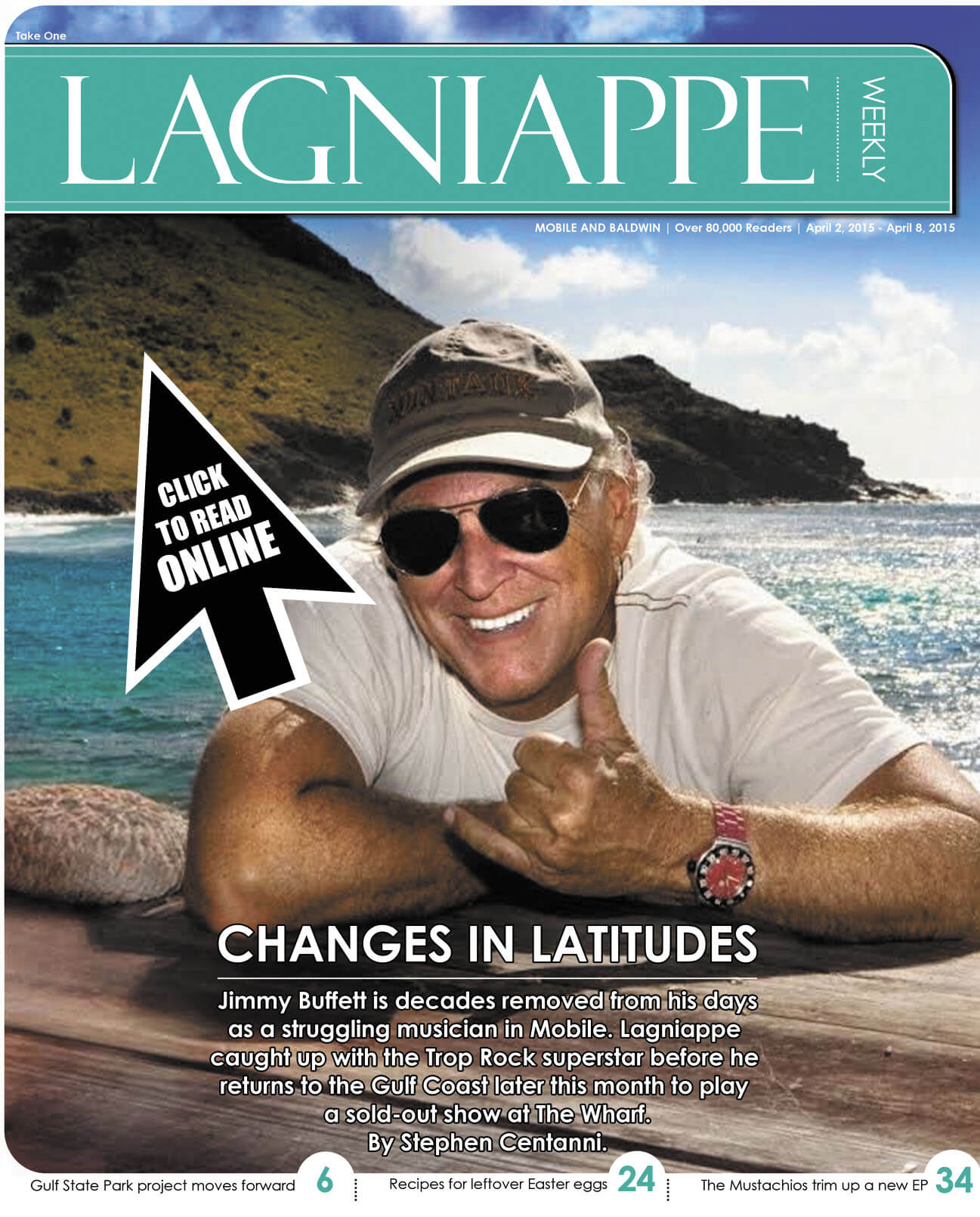 Lagniappe April 2-8