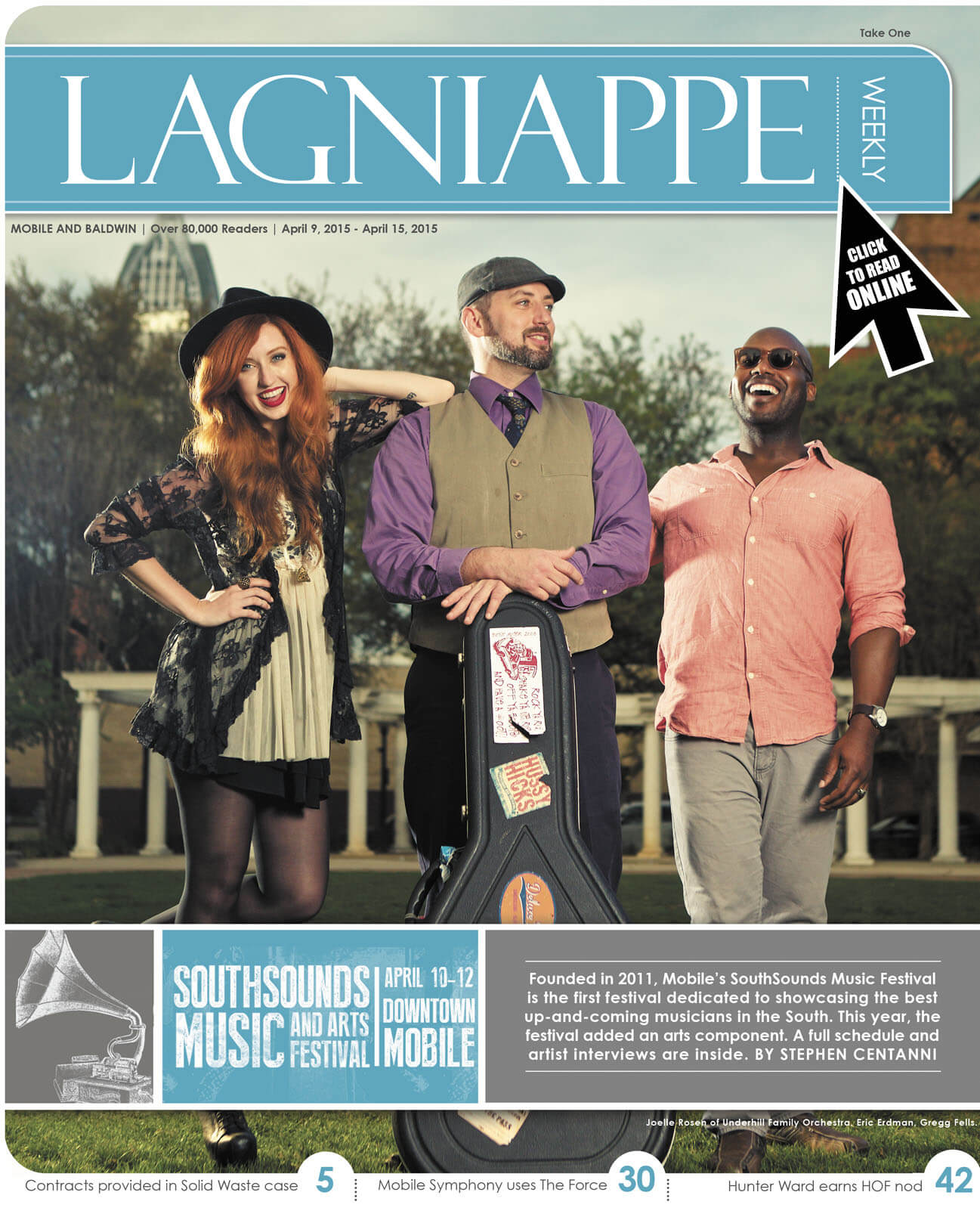 Lagniappe: April 9- 15, 2015