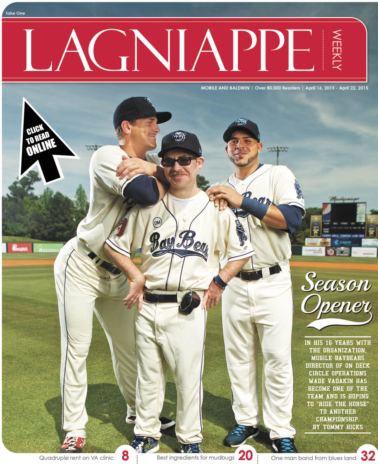 Lagniappe April 16-22, 2015
