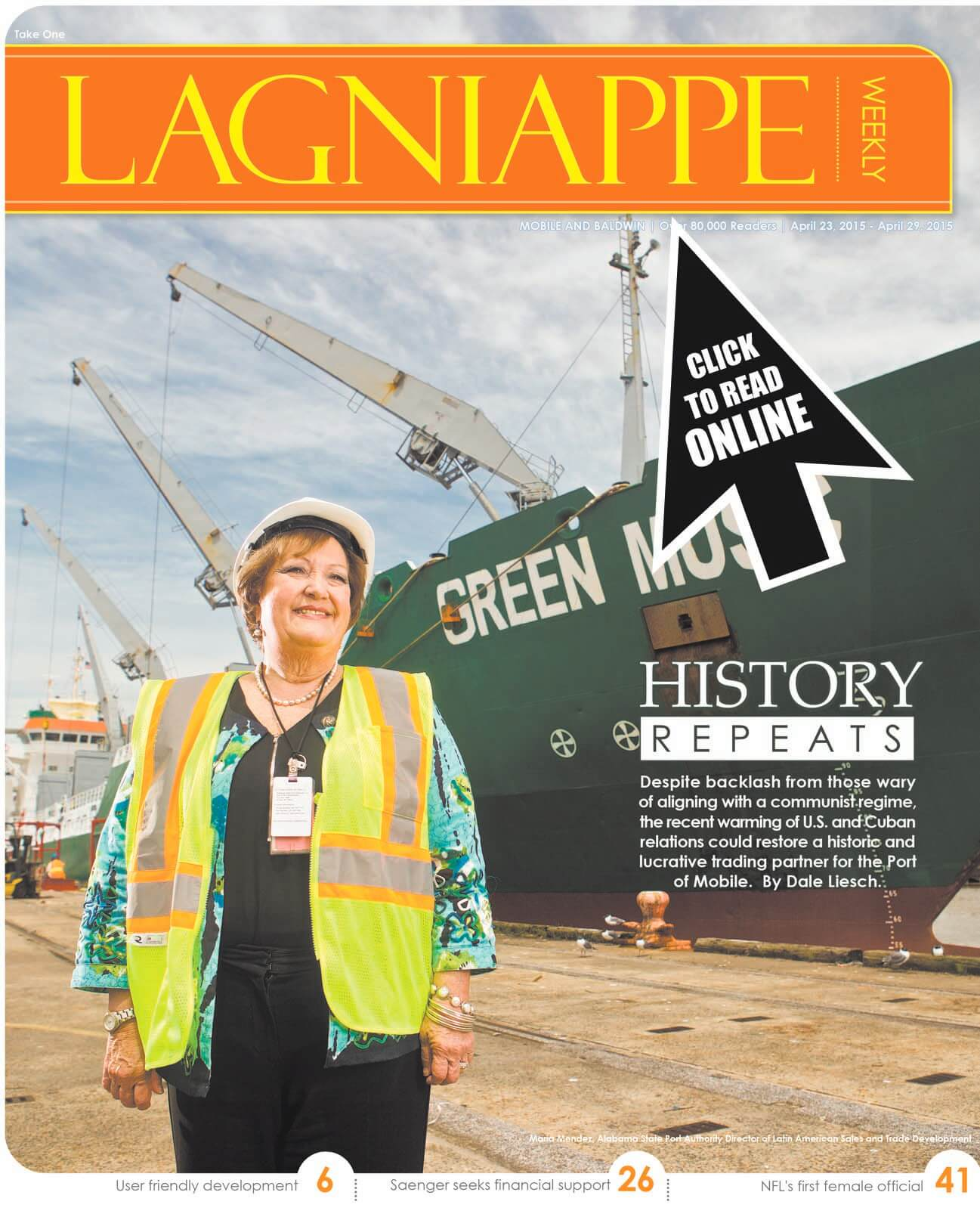 Lagniappe: April 23-29, 2015
