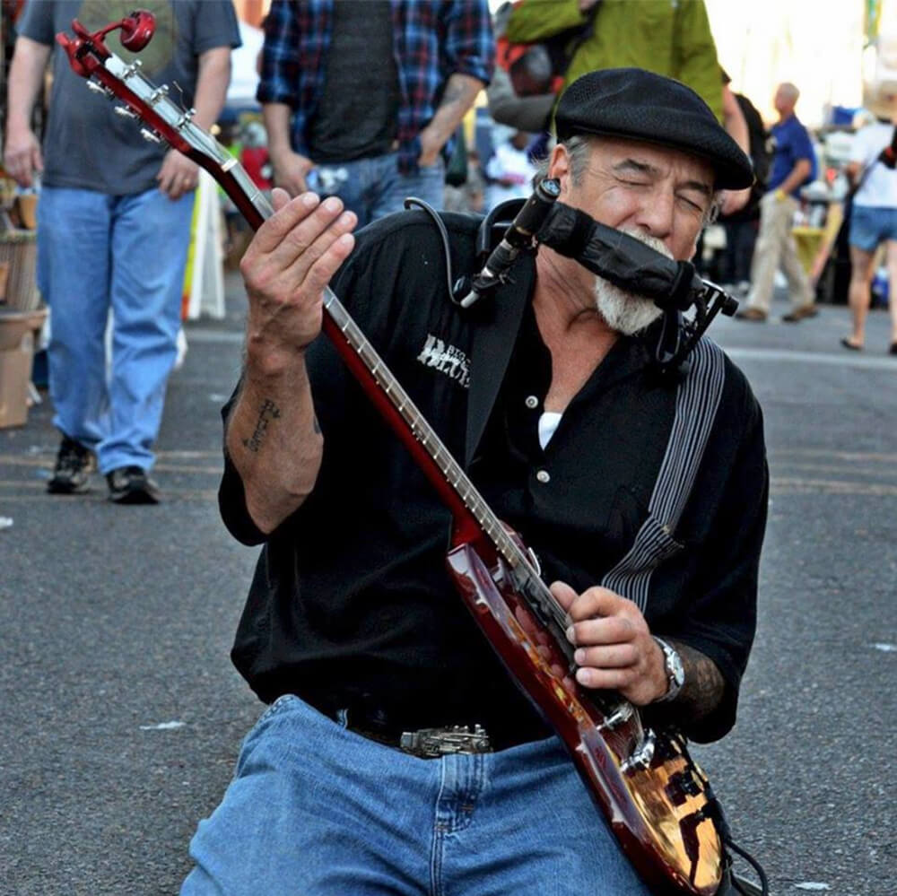 One man band from the heart of blues land