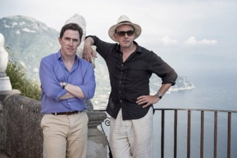 """Steve Coogan, right, and Rob Brydon play themselves in """"Trip to Italy."""""""