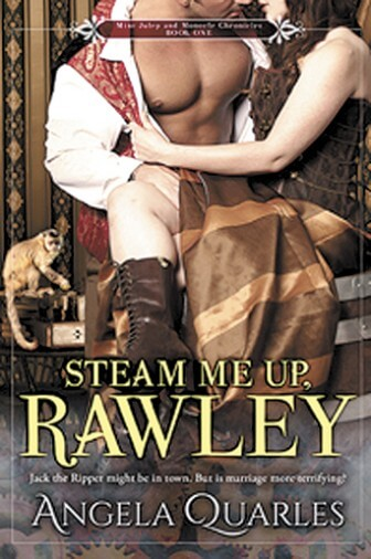 "Mobile author Angela Quarles' new novel  ""Steam Me Up, Rawley,"" is available in bookstores and online."
