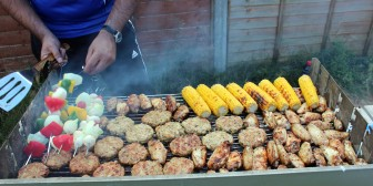 Meats, vegetables and even pastries and desserts can be prepared on backyard grills, which became popular after Americans migrated toward the suburbs in the 1950s.
