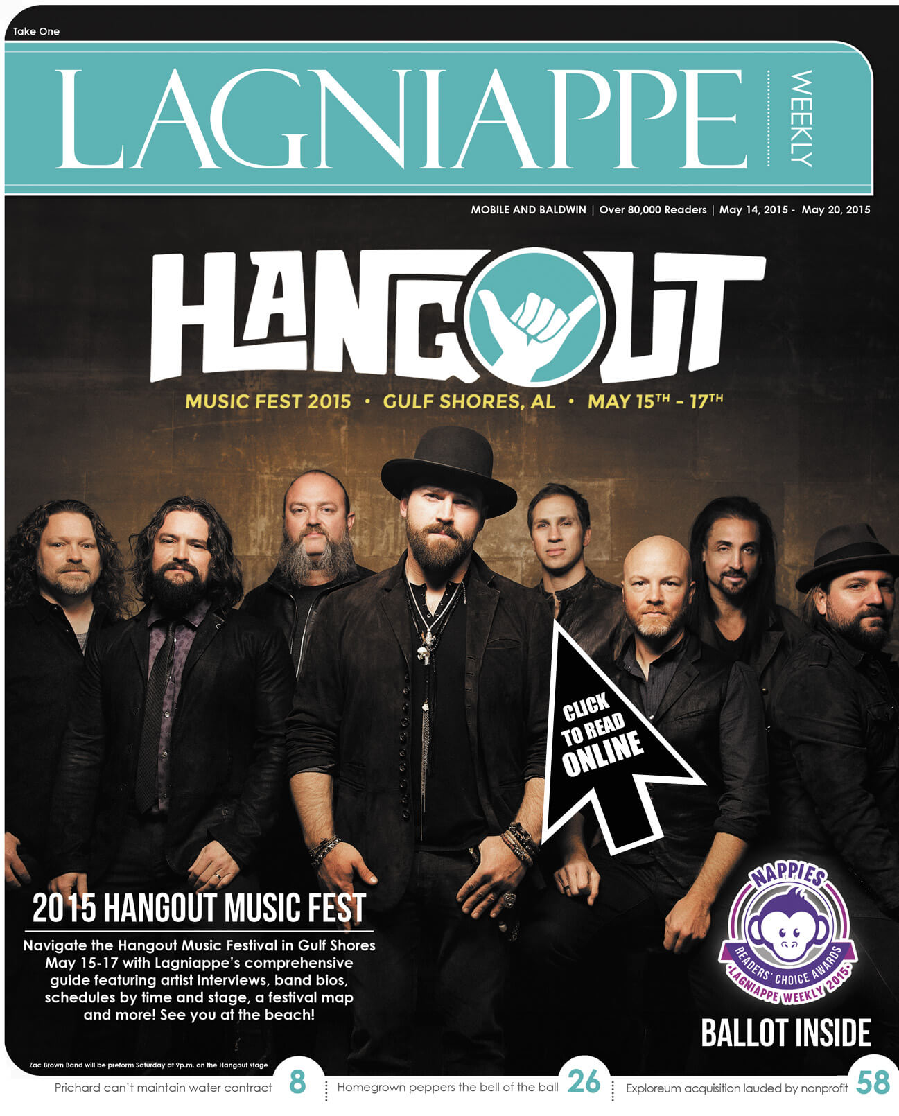 Lagniappe: May 14 – 20, 2015