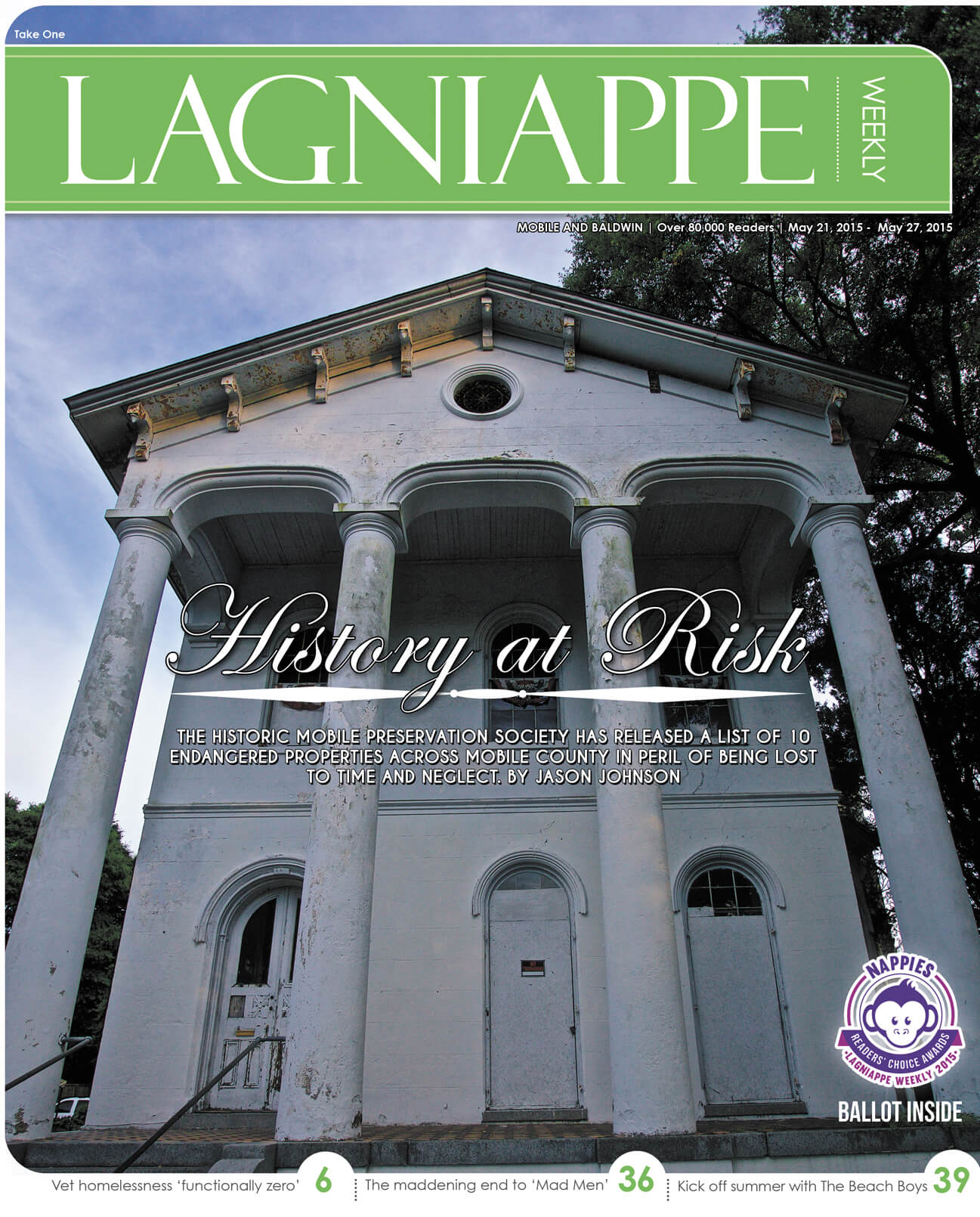 COVER STORY: Preservation Society working to save historic properties in Mobile County