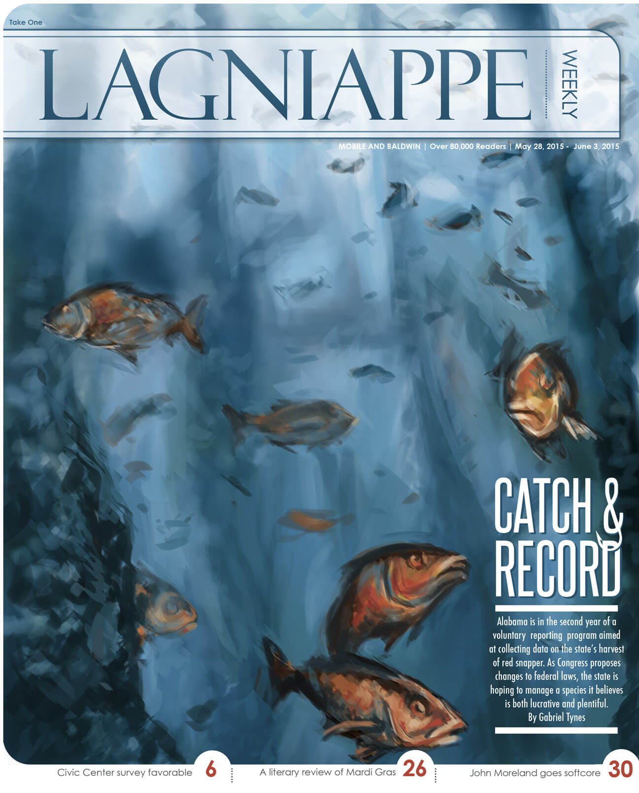 COVER STORY: Catch and report: State battles for control of offshore snapper