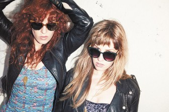 """Julie Edwards and Lindsey Troy of Deap Vally are looking to redefine """"girl time"""" at Hangout Fest."""