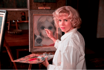 "Amy Adams stars in Tim Burton's real-life drama ""Big Eyes."""
