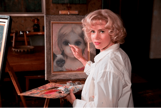 True story of art plagiarism, 'Big Eyes' is unusual spin for director Burton