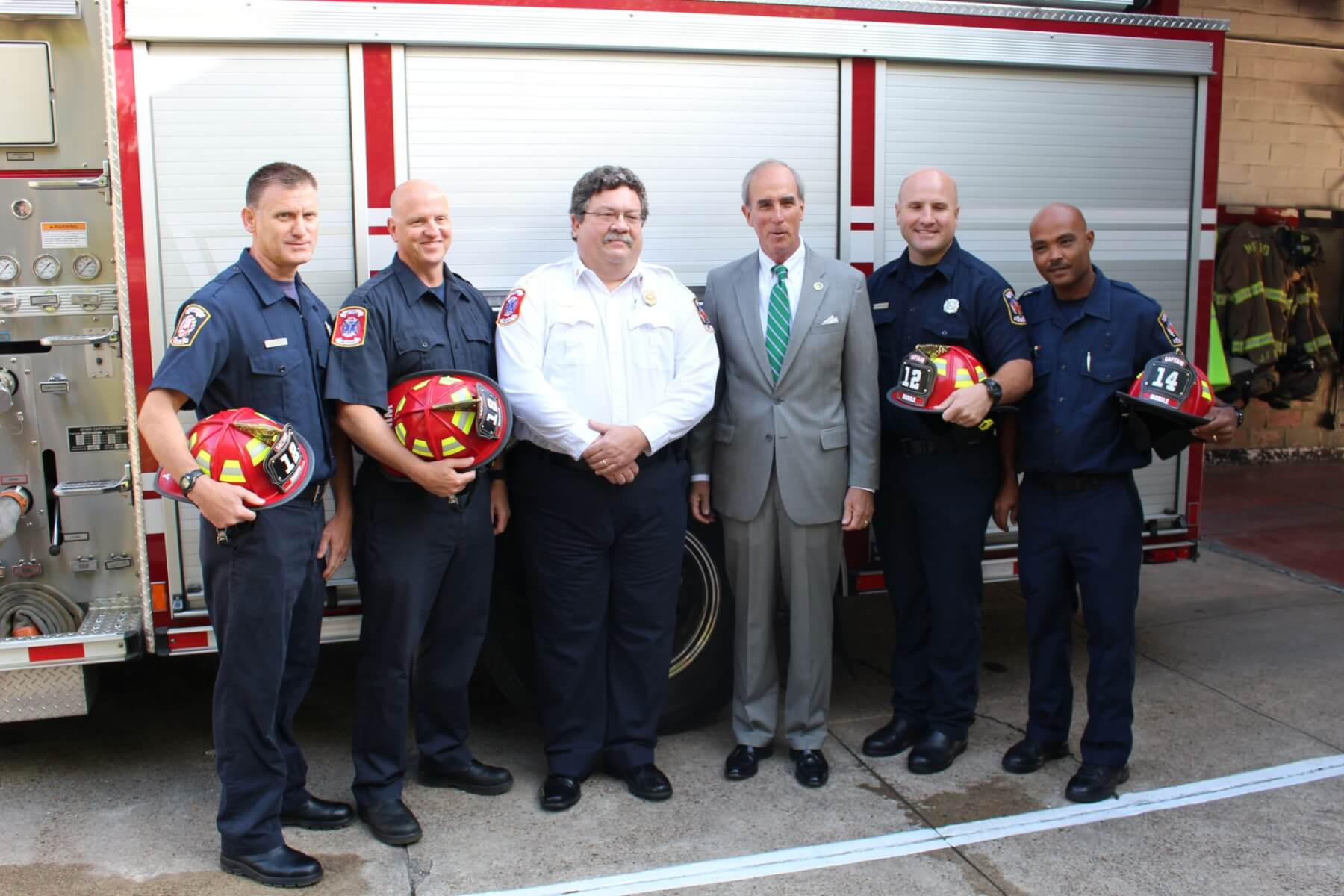 MFRD promotes four new captains