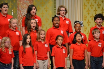 Mobile's Singing Children rehearse a Christmas program at the Cathedral Basilica of the Immaculate Conception in downtown Mobile last year.