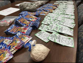 "On May 1 Mobile Police seized a significant amount of ""spice"" in a series of drug raids."