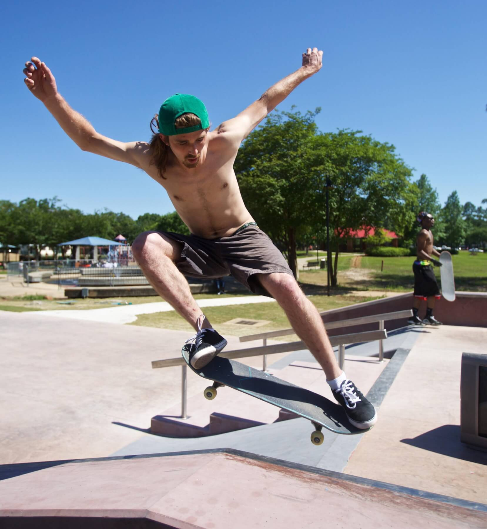 New skate park turnout 'insane'