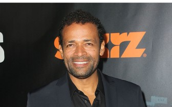 Mario Van Peebles was spotted at various locales on Royal Street.