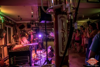 Great Peacock entertains music fans at Manci's in Daphne last weekend.