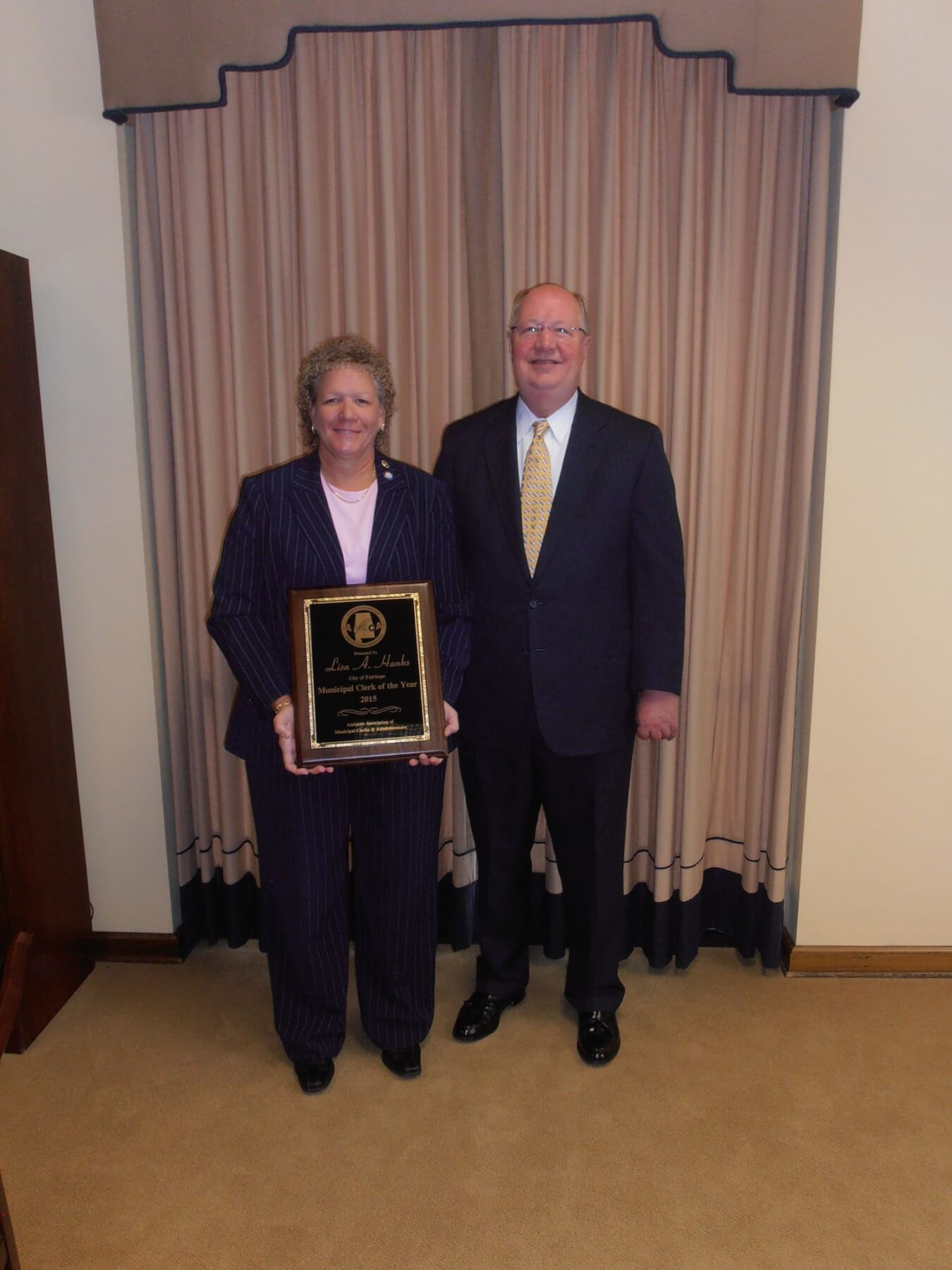 Fairhope's Hanks named Alabama Municipal Clerk of the Year