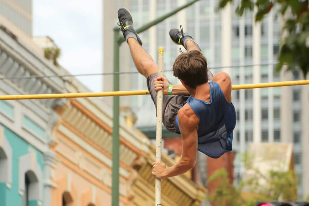 Sports Authority develops busy athletic calendar
