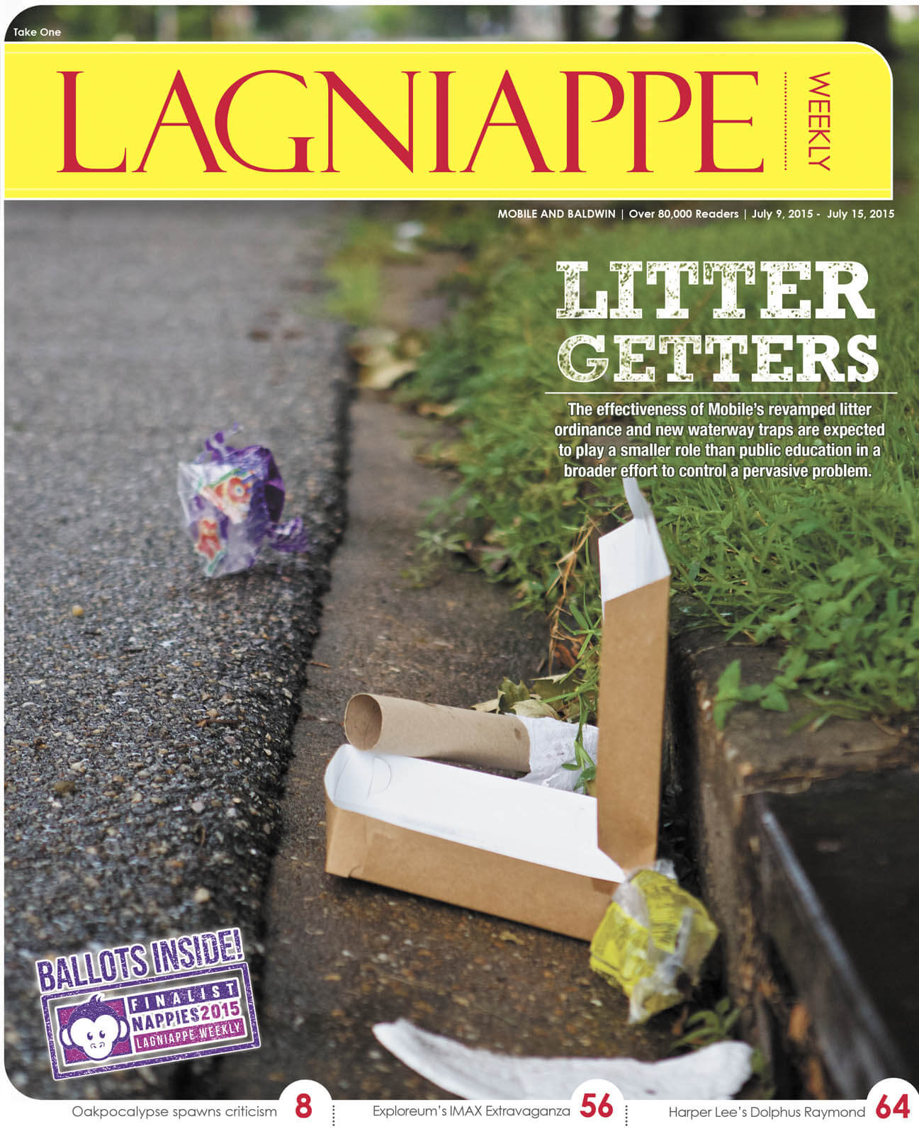 COVER STORY: Enforcement questioned as litter continues to flow through city