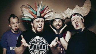 Psychostick combines metal and merriment with humorous interpretations of cover songs, as well as originals.