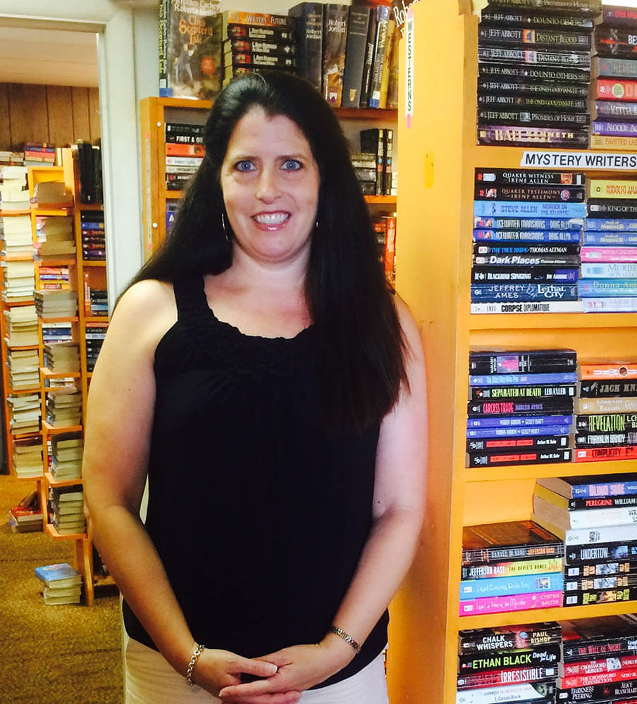 Bookstore owner looking to turn another page
